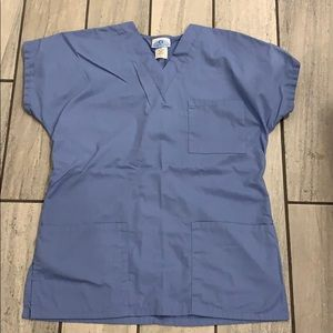 Light blue Scrub top